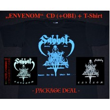 "Sabbat (Jap) ""Envenom"" CD + T-SHIRT / BLUE (PACK)"
