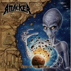 "Attacker (US) ""Sins of the World"" CD"