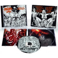 """Cemetery Lust (US) Orgies Of Abomination"""" CD"""