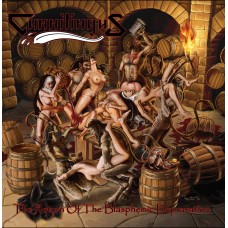"Cunnilingus (Por) ""The Return Of The Blasphemic Depravation"" CD"