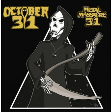 "October 31 (US) ""Metal Massacre 31"" CD"