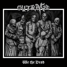 """Outrage (Ger) """"We The Dead"""" CD"""