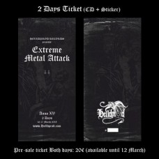 EXTREME METAL ATTACK // 2 Days Ticket (ANNO XV 2018)