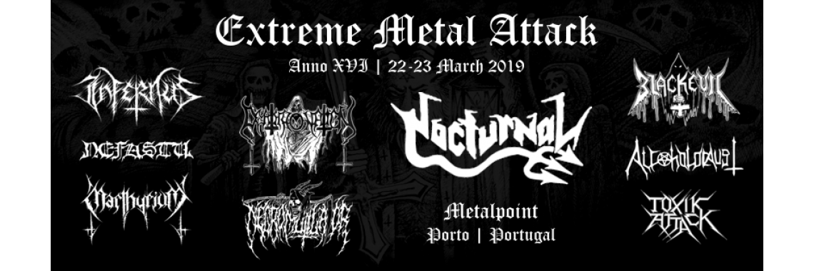 Extreme Metal Attack // 2019