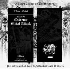EXTREME METAL ATTACK // 2 Days Ticket (ANNO XVI 2019)