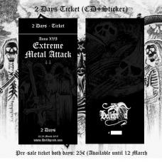 EXTREME METAL ATTACK // 2 Days Ticket (ANNO XVI 2019)