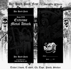 EXTREME METAL ATTACK // Die-Hard Pack Fest (ANNO XVI 2019)