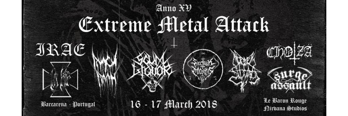 Extreme Metal Attack Anno XV 2018