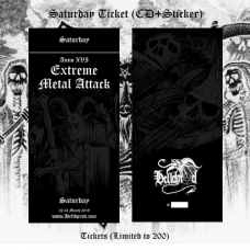 EXTREME METAL ATTACK // Saturday Ticket (ANNO XVI 2019)