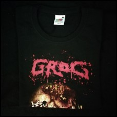 "Grog (Por) ‎""Scooping The Cranial Insides"" T-Shirt"