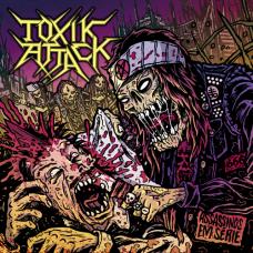 """Toxik Attack (Por) """"Assassínos em Série"""" CD"""