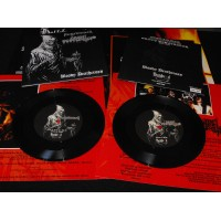 "Augrimmer (Ger) / Grave Desecrator (Bra) ""Bloody Deathcross"" Split-EP"