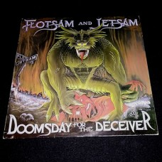 "Flotsam And Jetsam (Us) ""Doomsday For The Deceiver"" LP"