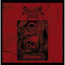 "Invocation Spells (Chi) ""The Flame of Hate"" (12"" LP on Red Vinyl w/ Black Splatter & Poster)"