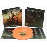 "Ironsword ‎(Por) ""None But The Brave"" DLP (Orange Splatter)"