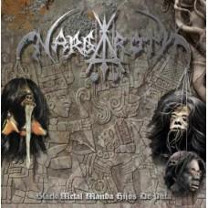 """Nargaroth """"Black Metal Manda Hijos De Puta"""" LP (RED)"""