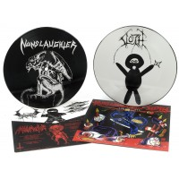 "Nunslaughter (US) / Sloth (US) ""Split 7""  (Picture disc w/ Insert)"