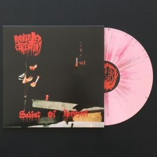 """Perverted Ceremony (Bel) """"Sabbat Of Behezaël"""" LP (Pink Splatter)"""