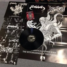 "Sabbat (Jap) / Paganfire (Phil) ""Sabbatical Vermin Born - The Witchhammer Of The Power Elitist"" Split LP"