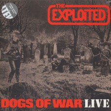 "The Exploited ‎(UK) ""Dogs Of War Live"" LP ( Grey Vinyl)"